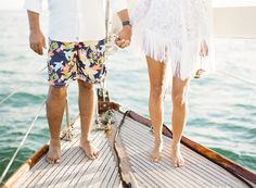 KT Merry Photography // sailboat engagement session.