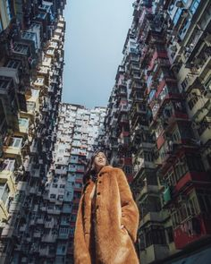 Monster building quarry bay jenny tsang of tsangtastic in hong kong must se Travel Pictures Poses, Travel Photos, Travel Pose, Hong Kong Fashion, Teddy Coat, Concrete Jungle, Travel Aesthetic, Asia Travel, Travel Photography