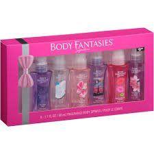 Body Fantasies 6 Piece Body Spray Set Splash Perfume Gift Box New Fantasy Perfume, Halloween Acrylic Nails, Fantasy Gifts, Body Spray, Beauty Supply, Smell Good, Fragrance Oil, Bath And Body Works, Body Lotion