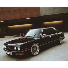 Farewell shoot for the e28, bittersweet. #stanceworks