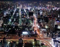 Nagoya night view N°2 by N. Ohashi on 500px