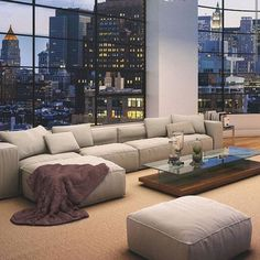 Pretty view, lovely living room