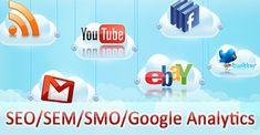 SEO/SMO/SEM/SMM/PPC services  provided