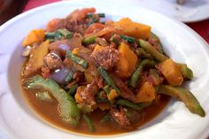 Pinakbet or Pakbet http://www.filipinofoodsrecipes.com/2009/11/pinakbet-recipe.html #FilipinoFood #FilipinoRecipe #Vegetable #Vegetarian #Philippines