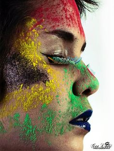South African Flag. Model: Dominique. Make-Up: Tris Alves... . All Rights Reserved. Gee Lady Photography ©