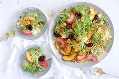 Cheeky stone fruit salad
