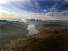 Scotland - Loch Earn.