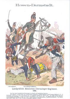 Band I - Hessen-Darmstadt. German Confederation, British Army Uniform, Seven Years' War, German Uniforms, War Of 1812, French Revolution, Napoleonic Wars, Military History, Dragon