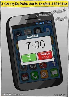 A solução para quem acorda