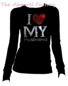 I have this shirt! Except I have the v-neck. I love to wear it, and my husband loves when I wear it too! :)