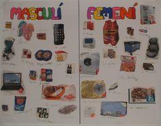 El bagul de les lletres: gènere/ género Photo Wall, Classroom, Frame, Decor, School, Spanish Classroom, Reading, Science, Class Room