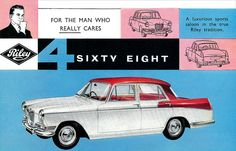 Riley 4/68 postcard. by totallymystified, via Flickr