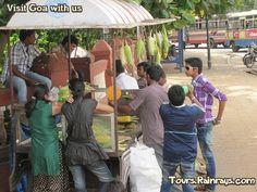 Tourist Attraction India: Miramar Beach , Panaji Goa   tour & travel packages india