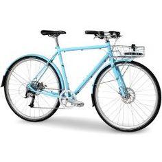 Bike Town - BICICLETAS / Híbrida-Urbana / Bicicleta Trek District 9 Classic Vintage Híbrida Urbana Aro 700c 2016 - Shimano Acera 9vel - Azul Claro - Trek - VENDAS SÓ LOJA FÍSICA
