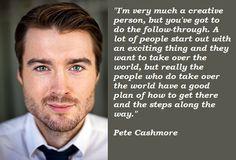 Pete Cashmore quote.
