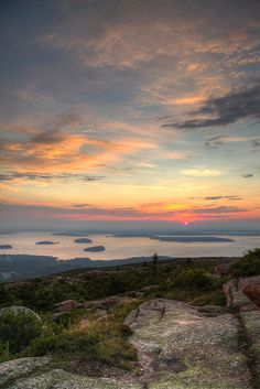 Sunrise - Acadia National Park, Maine