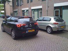 Alfa 147 and Giulietta