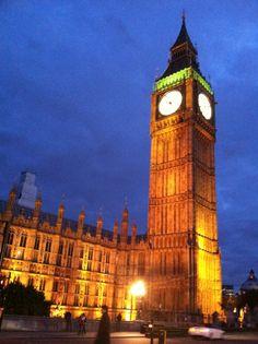 Elizabeth Tower (Big Ben) en City of Westminster, Greater London