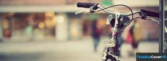 Red Vintage Bicycle Facebook Cover Timeline Banner For Fb Facebook Cover