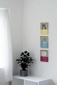 DIY: personalize com tinta molduras e quadros antigos - Casinha Arrumada
