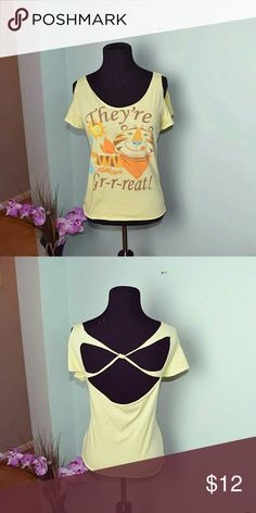 Tony The Tiger Graphic Top In excellent condition! Worn only a handful of times! Tops Blouses