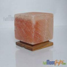 New Himalayan Rock Salt Lamps Cube Shape Himalayan Rock Salt Lamp, Himalayan Salt Crystals, Salt Crystal Lamps, Salt Rock Lamp, Cube, Shapes, Gifts