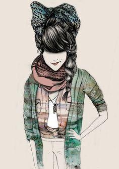 bow-drawing-girl-ribbon-Favim.com-210260_original.jpg (452×640)