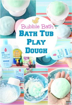 Lush Fun copycat recipe for bath tub play dough. Make homemade playdough with this bubble bath playdough recipe! sponsored Lush Fun copycat recipe for bath tub play dough. Make homemade playdough with this bubble bath playdough recipe! Bath Bomb Recipes, Soap Recipes, Diy Crafts For Kids, Fun Crafts, Summer Crafts, Holiday Crafts, Best Lush Products, Bath Products, Homemade Playdough