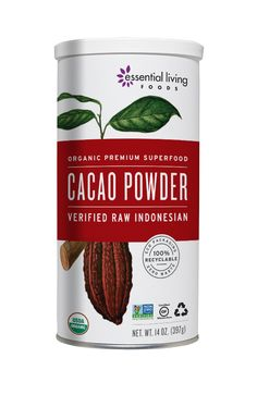 100% RAW low-temperature cacao powder from Bali, Indonesia. The original superfood powder, this is a sugarless raw chocolate powder mix is packed with antioxidants, magnesium, and naturally helps in energizing and boosting your mood.