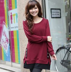 Mock Two-Piece Pullover Dress from #YesStyle <3 TANGYIZI YesStyle.com