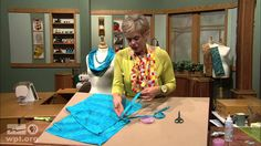 Sew Amazing Scarves (Part 1 of 3) - SEWING WITH NANCY