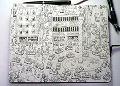 Behance :: Sketchbooks by Mattias Adolfsson
