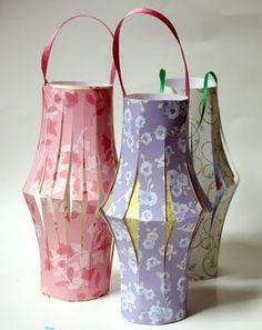 Make Eid Paper Lanterns fanoos