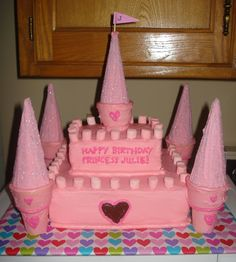 easy princess cakes | loving owen {and kate}: princess castle cake