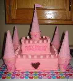 easy princess cakes | loving owen {and kate}: princess castle cake
