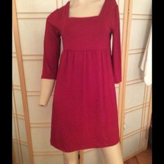 Beautiful red dress in great item for leggings M New without tag Dresses Midi