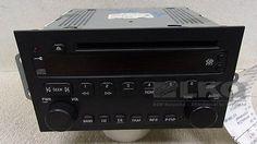 04 05 06 07 Buick Rendezvous CD Player Radio Receiver OEM 10346985