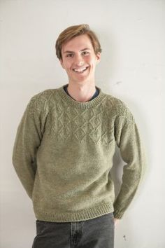 Bayr Pullover Pattern by Jean Clement