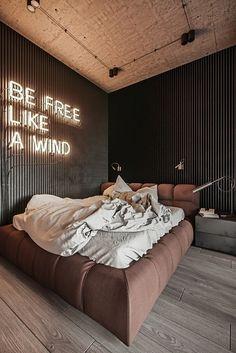Home Room Design, Interior Design Living Room, Living Room Designs, House Design, Home Bedroom, Modern Bedroom, Bedroom Decor, Bedroom Shelves, Bedroom Signs