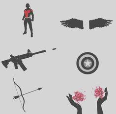 Team Cap aesthetic #avengers #marvel