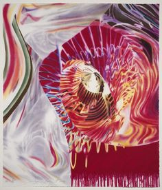 James Rosenquist ~ Sailor, from the Speed of Light series, 1999 (lithograph)