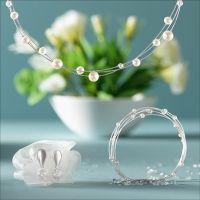 Designlinie Apasiona von Bernd Wolf Schönes Collier zum Brautkleid #wedding #juwellery#schmuck #brautschmuck #Perle