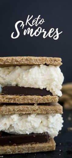 These low carb smores are always on the menu and are simple and quick to make for your family and friends!
