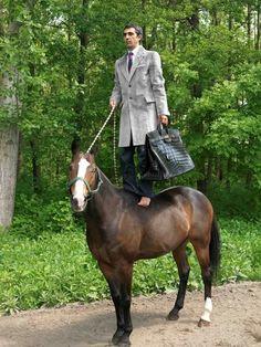 www.pegasebuzz.com/leblog | Erwin Wurm for Hermes menswear