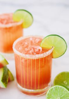 Boozy Watermelon Coconut Refresher