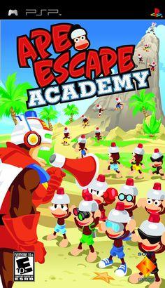 Ape Escape Academy PSP Game