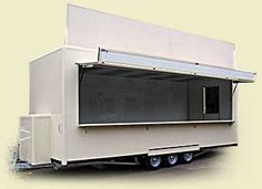 Food Trailer! Oooooooh! think of all the different ways to make it beautiful!!!!