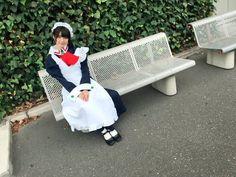 市川美織@LARME発売中 @miorin_lemon212  2016年5月28日 今日の全身です💕  『ハヤテのごとく!』のマリアさんのコスプレでした😚  ロングスカートのメイド服かわいい☕︎