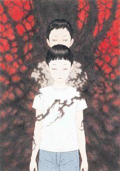 gothicjellyfish:  © Takato Yamamoto Not alone…