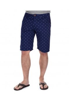 A pair of navy blue chino shorts, printed with the Twisted Soul logo. Wear them, and it's free advertising for us. Everyone's a winner! Navy Blue Chinos, Festival Essentials, We Are Festival, Navy Logo, Summer Is Here, Chino Shorts, Cool Logo, Patterned Shorts, Latest Trends